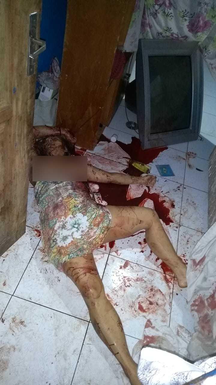 Trio invade apartamento e mata mulher no Centro de Manaus - Imagem Via Whatsapp