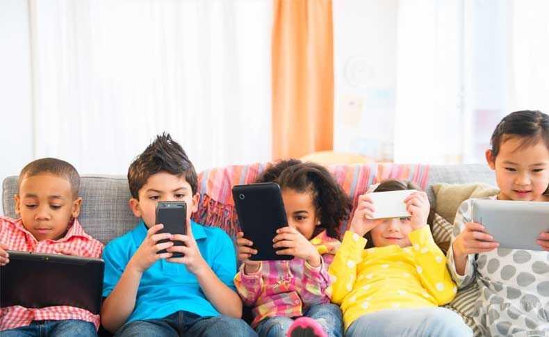 Uso exagerado de aparelhos eletrônicos pode causar miopia - Imagem : Divulgação