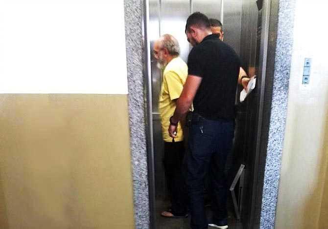 José Melo no Tribunal / Foto : Divulgação