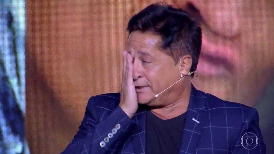O cantor Leonardo / Foto Reprodução Rede Globo