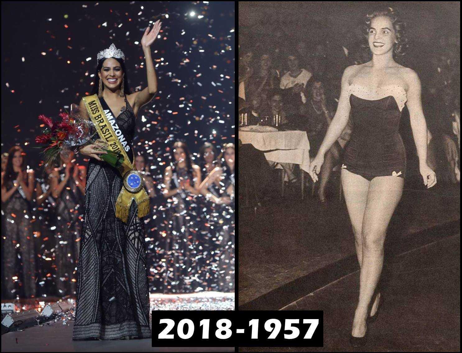 Conheça as duas representantes do Amazonas que venceram o concurso Miss Brasil