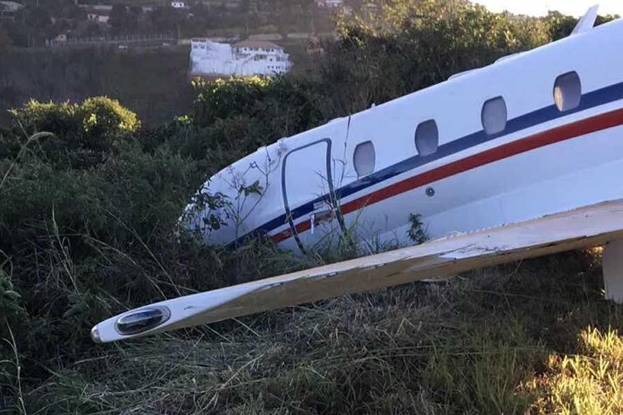 Avião que levava DJ Alok saiu da pista de aeroporto de Juiz de Fora - Imagem: Arquivo pessoal