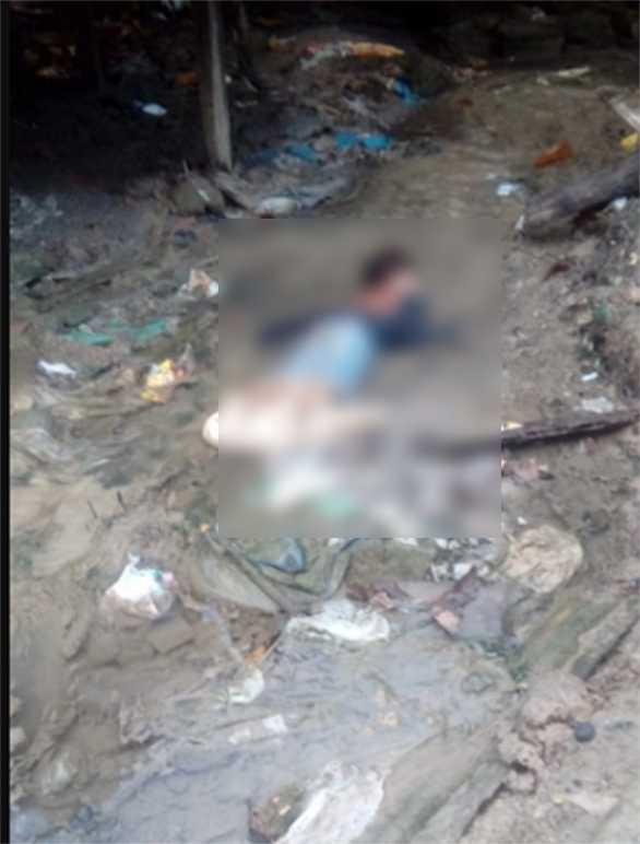 Corpo de criança e encontrado em igarapé na Zona Leste de Manaus - Imagem: Divulgação