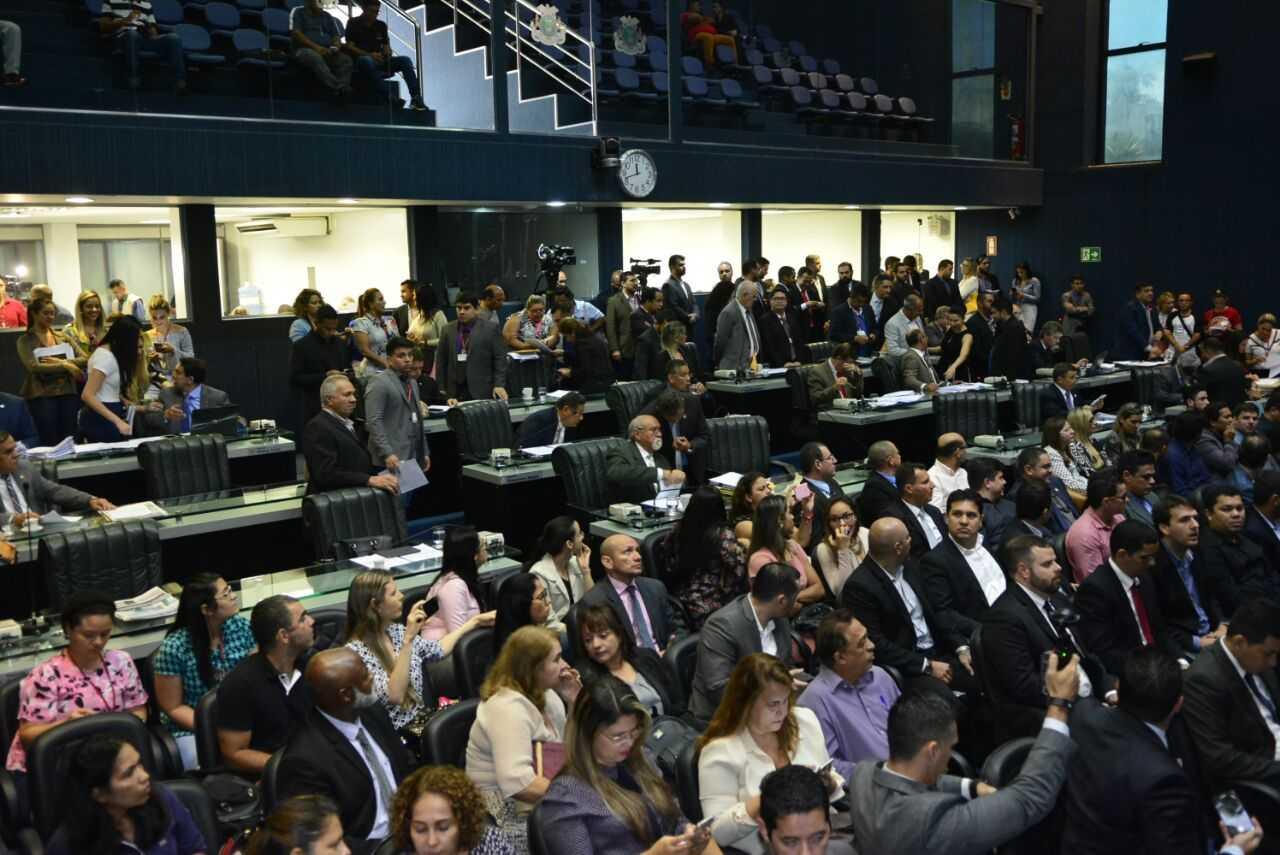 Dia de votação na ALE terá alteração - Imagem: Hudson Fonseca