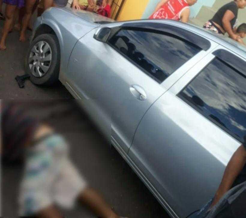 Mulher mata marido PM em porta de motel; câmeras de segurança gravam o momento do crime e justiça libera mulher / Foto : Divulgação
