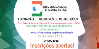 Universidade do Terceiro SetorCurso de Formação de Gestores de Instituições do Terceiro Setor