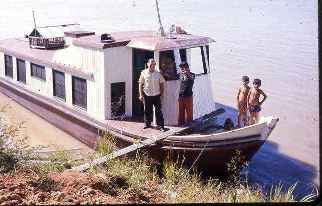 Barco em Codajás / Foto : Divulgação