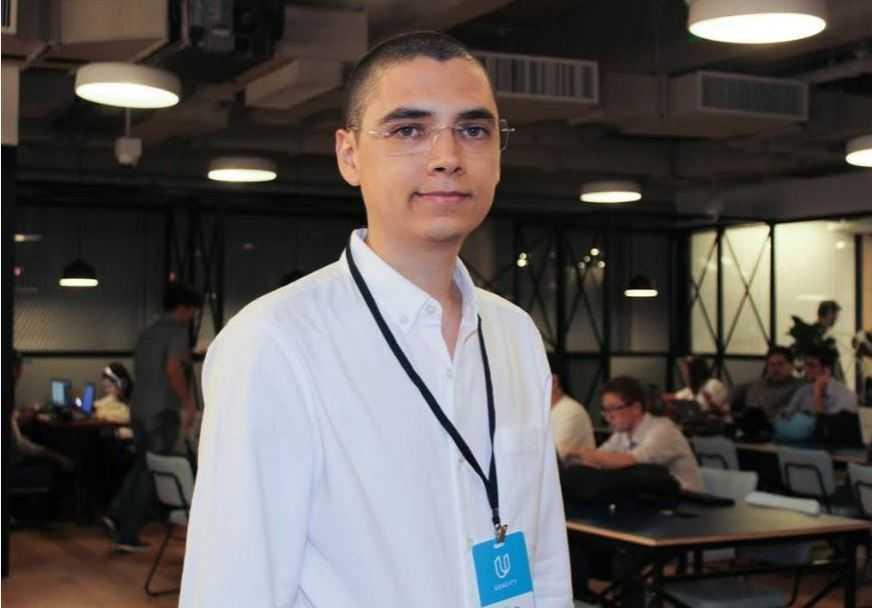 O biólogo Rafael Sousa, criador do Oi Peixe. Foto: Divulgação