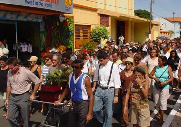 Enterro de Valdir Viana / Foto: Hamilton Bahia