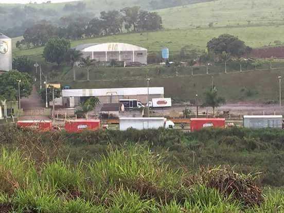 Ônibus poderão paralisar caso greve dos caminhoneiros continuar, no Amazonas - Imagem: Via Whatsapp
