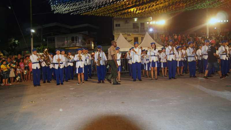 Desfile Cívico marca os 163 anos da cidade de Tefé / Foto : No Amazonas é Assim