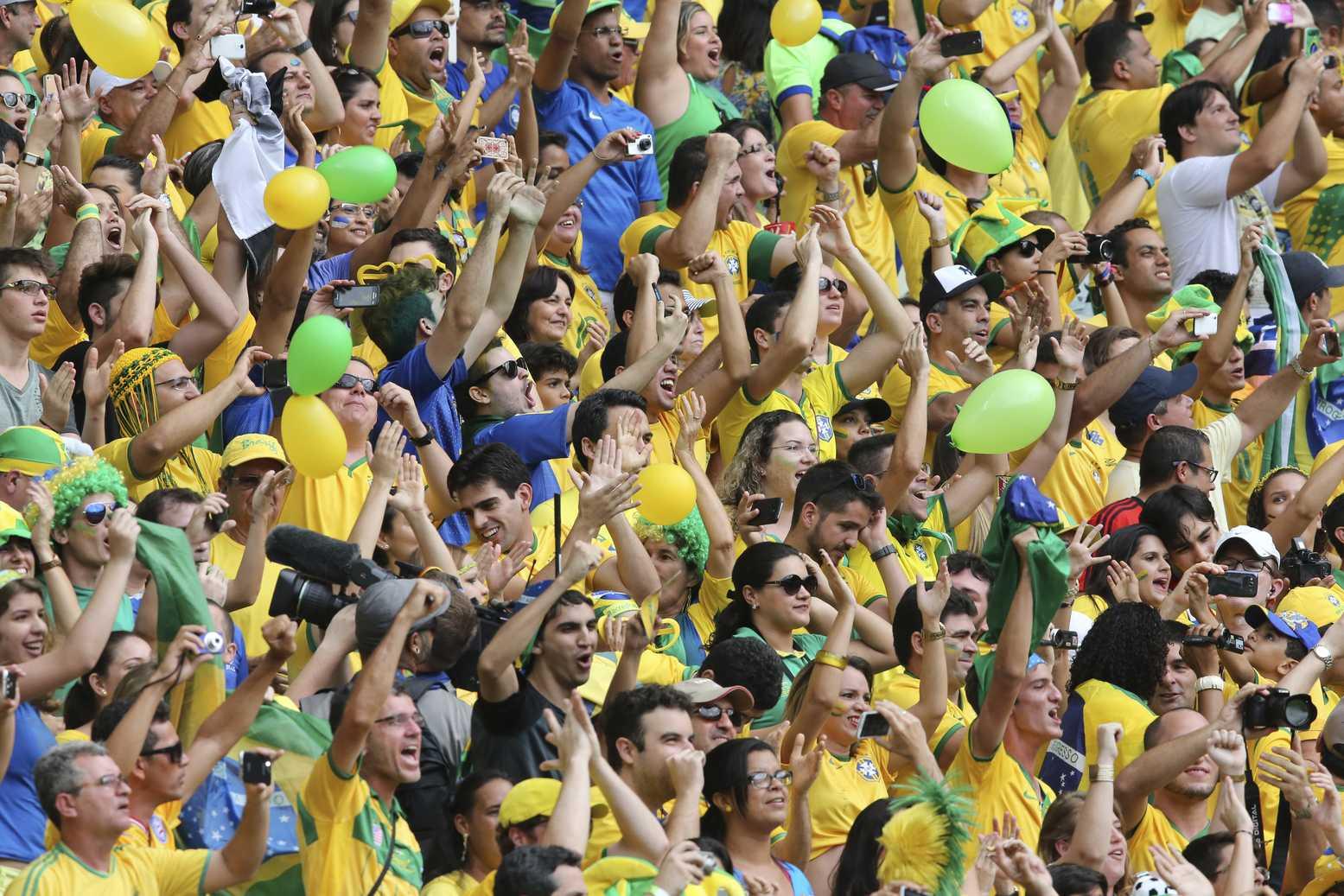 Governo do Amazonas define pontos facultativos nos dias de jogos do Brasil na Copa 2018 - Imagem: Divulgação