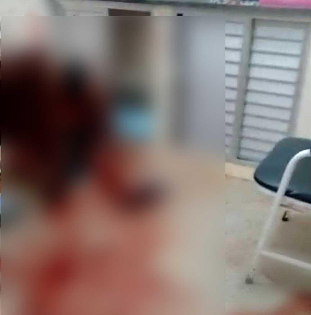 Homem sobrevive após ser alvejado, mas é morto a facadas dentro de hospital, no Amazonas - Imagem: Via Whatsapp