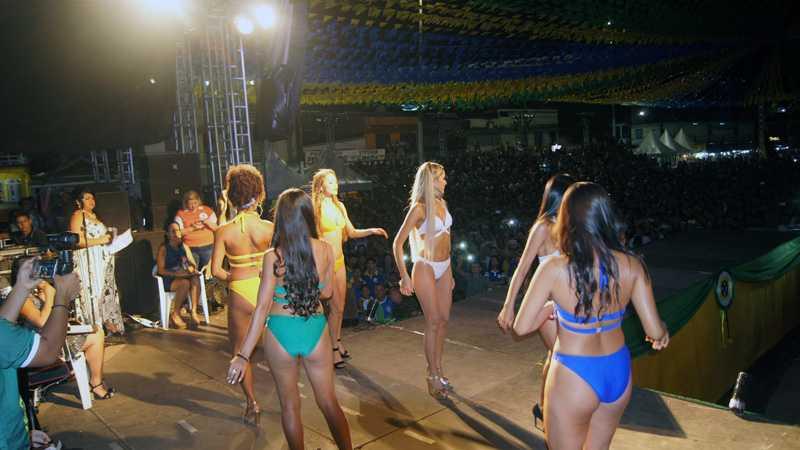 Candidatas do Miss Tefé 2018 / Foto : No Amazonas é Assim