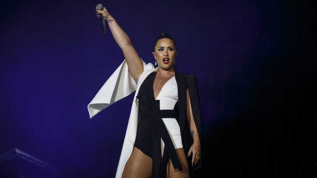 Demi Lovato teria sido internada após overdose - Imagem: Divulgação