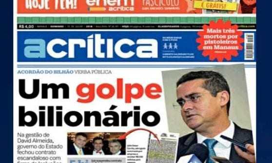 Deputado sofre retaliação após denunciar esquema em vistoria veicular em Manaus - Imagem: Reprodução