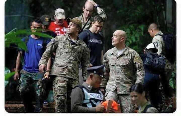 Fotos dos bastidores do Resgate das Crianças da Tailândia de uma caverna / Foto : Divulgação