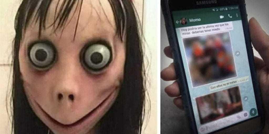 O mistério por trás de Momo, o Demônio do WhatsApp - Imagem: Divulgação