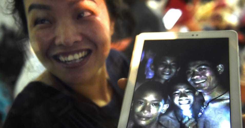 Resgate dos meninos presos em caverna na Tailândia deve virar filme - Imagem: Divulgação