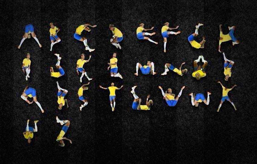 o Alfabeto Neymar