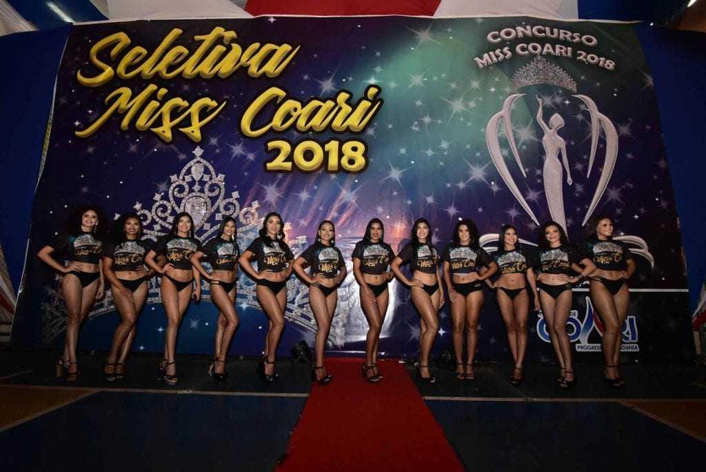 Conheça as 12 postulantes ao título Miss Coari 2018