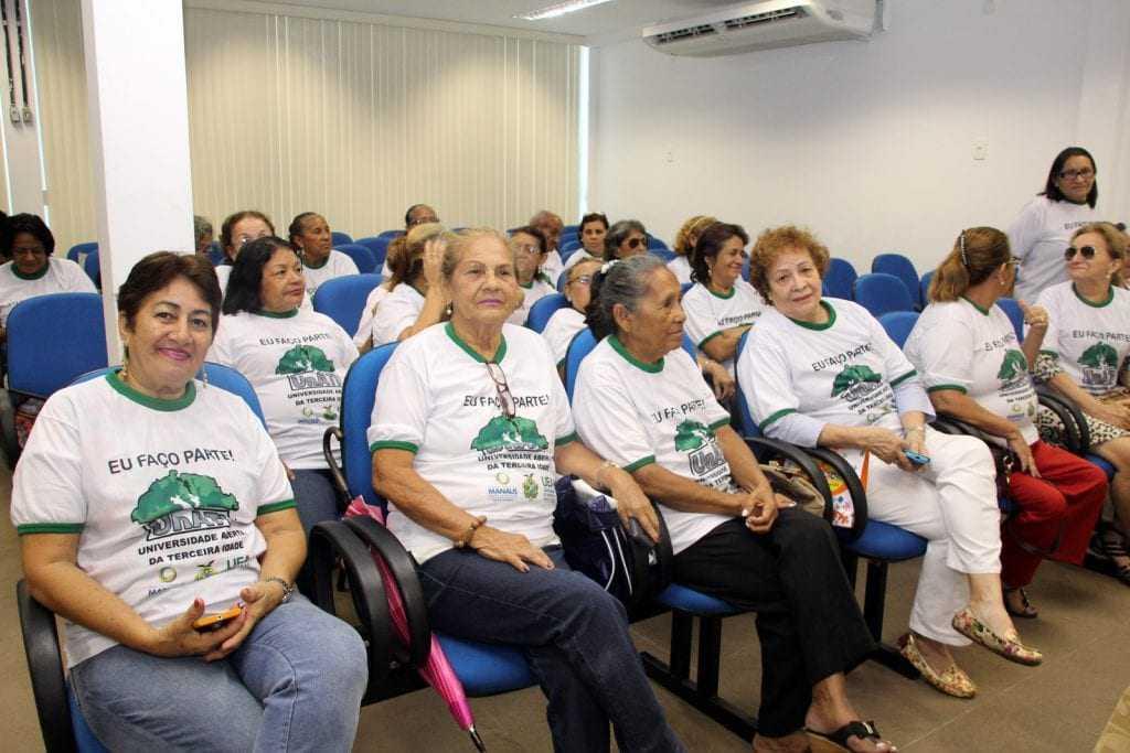 Universidade Aberta da Terceira Idade / Foto: Marinho Ramos/Semcom