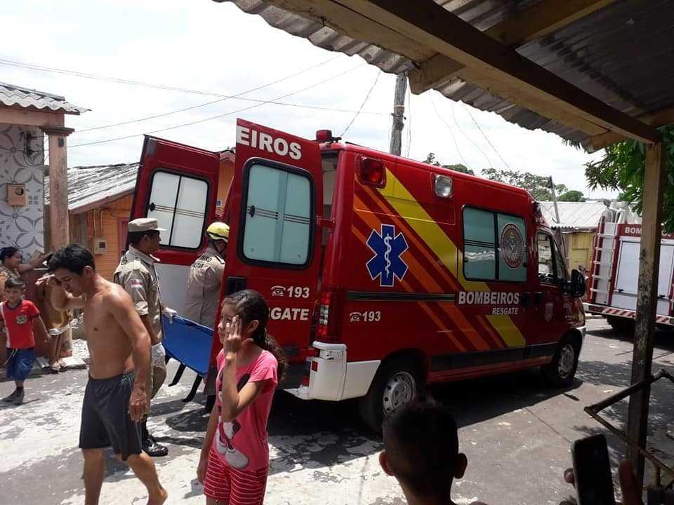 Urgente Casa desaba e bebê recém-nascido está entre os feridos -Imagem: Divulgação