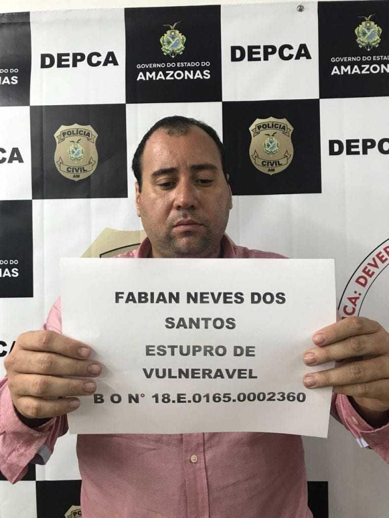 Dono de empresa de segurança é preso em motel com criança de 13 anos, em Manaus - Imagem: Divulgação