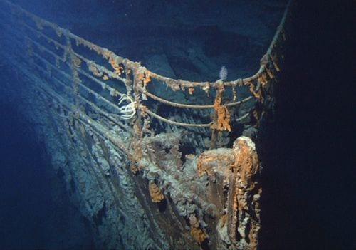 Fotos Raras do Interior do Real Titanic