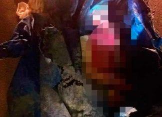 Corpo é encontrado na zona norte em lona com as mãos amarradas