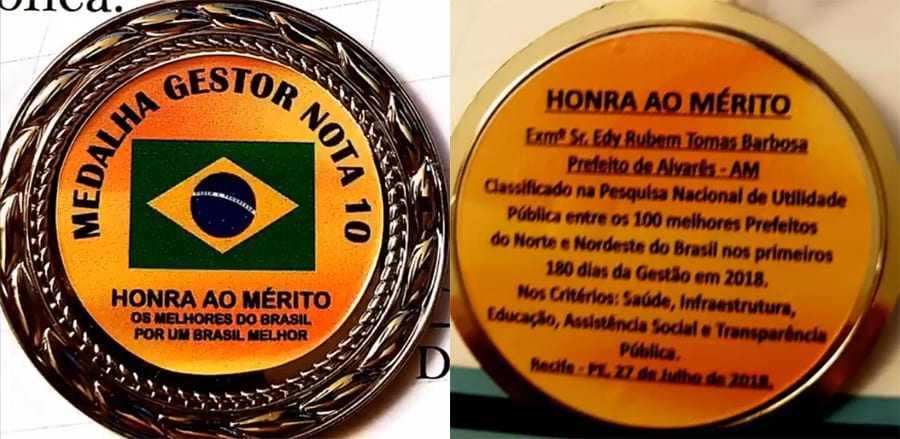"""Conheça um Prefeito do Amazonas que ganhou o mesmo prêmio do """"Jumento"""" como """"prefeito nota 10 do Brasil"""