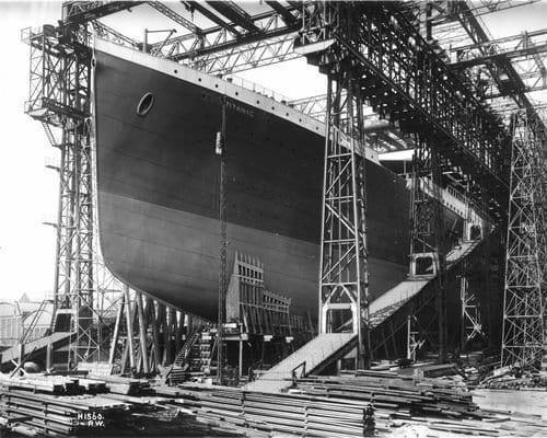 A Construção do Titanic