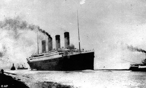 Navegando pelas Águas - Fotos Raras do Interior do Real Titanic