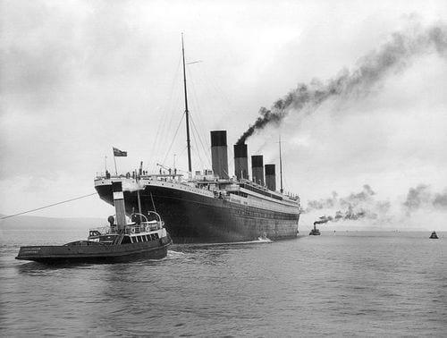Navegando na Saída de Belfast