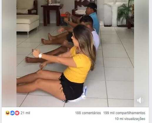 Viral: blogueira consegue 10 milhões de views em brincadeira na internet
