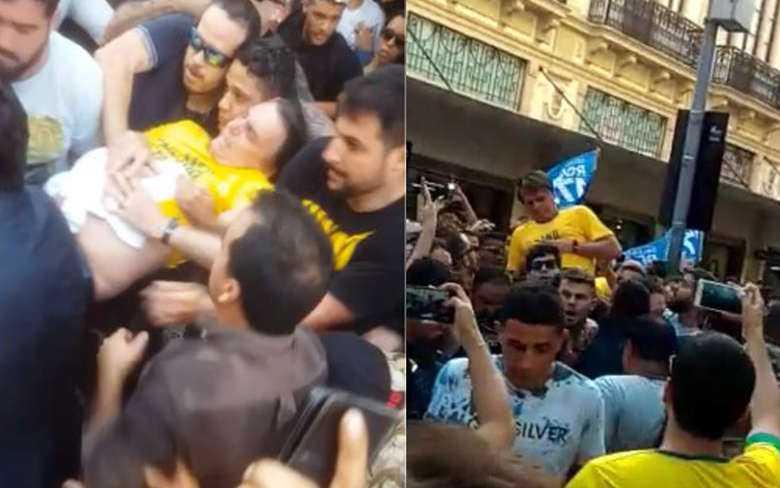 Bolsonaro está fora de perigo e passa bem, afirma filho - Imagem: Divulgação