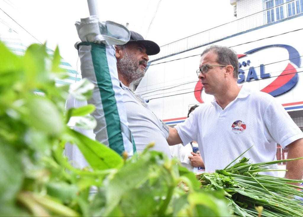 """A Afeam será devolvida aos pequenos empreendedores"""", disse Chico Preto, vice de David"""