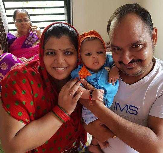 Foto: Reprodução – Este bebê precisou passar por duas cirurgias para retirar seus sete dentes
