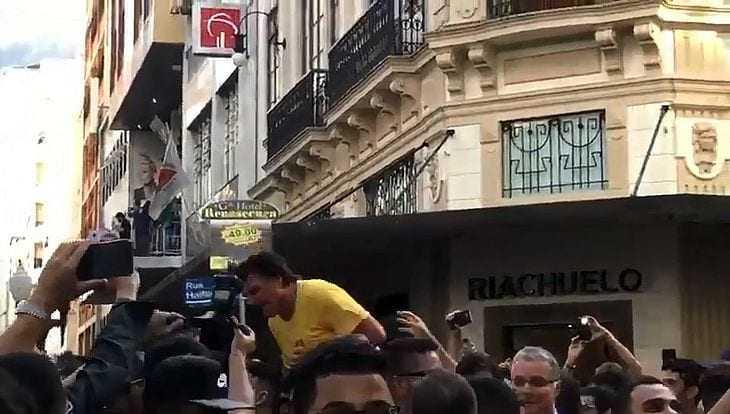 Bolsonaro é esfaqueado - Imagem: Divulgação