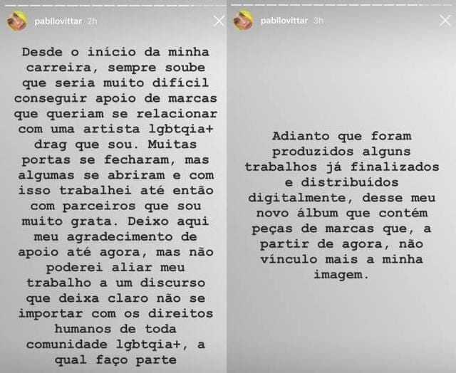 Pabllo Vittar (Pabllo Vittar/Facebook/Divulgação)