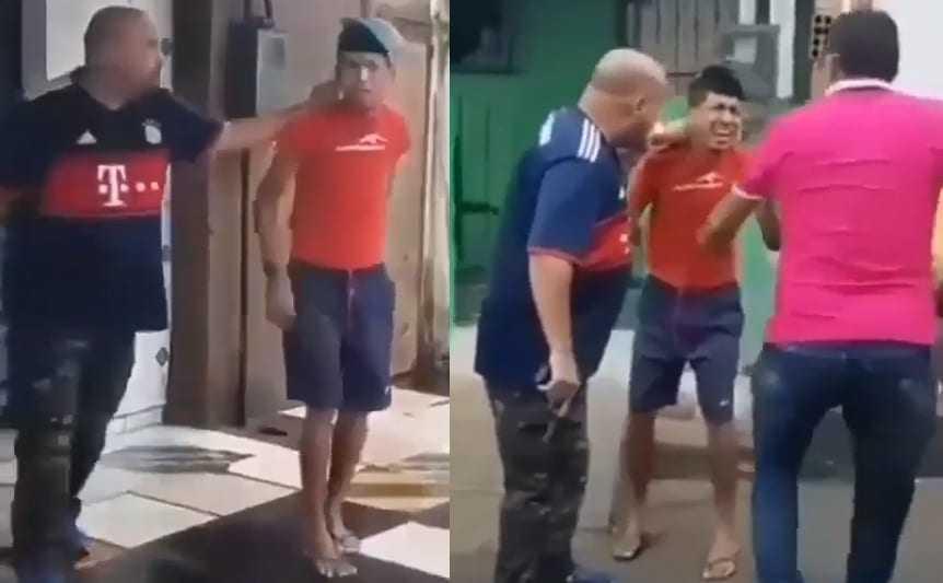 Trabalhador, filho exemplar, fica emocionado em ser preso em Manaus