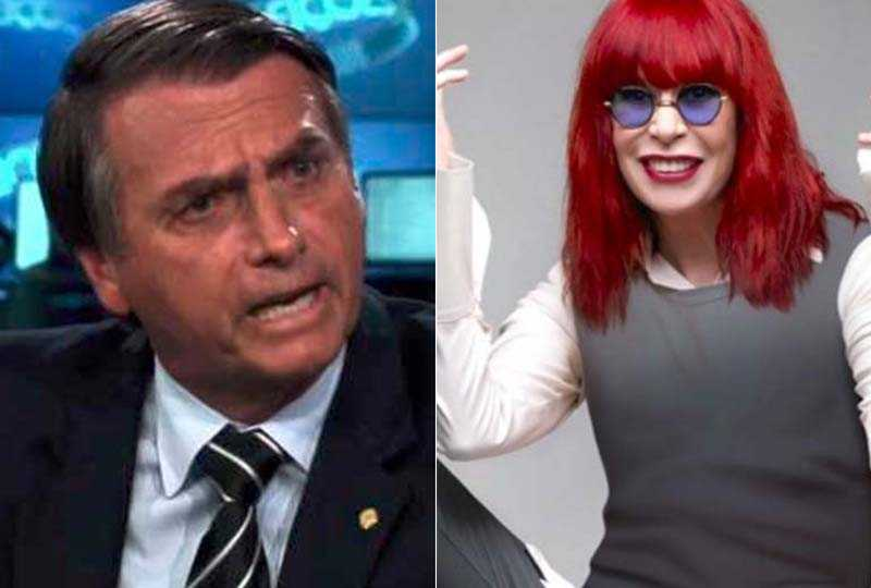 Bolsonaro e Rita Lee