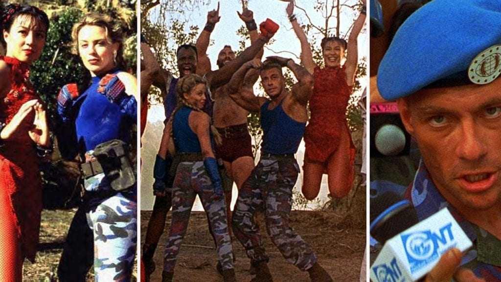 Como estão hoje os atores que fizeram o filme Street Fighter / Foto : Divulgação