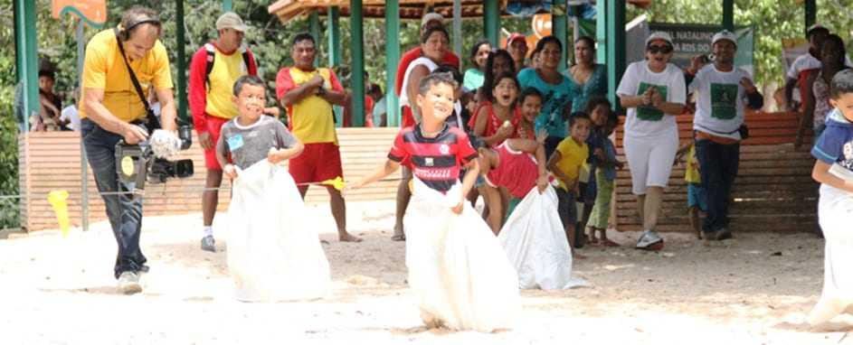 Crianças: Futuro da Amazônia / Foto Prefeitura de Manaus