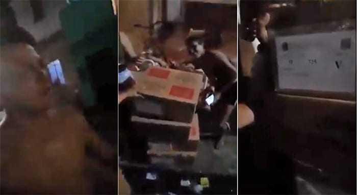 Moradores da Compensa encontram 4 urnas eletrônicas jogadas na rua em dia de eleição