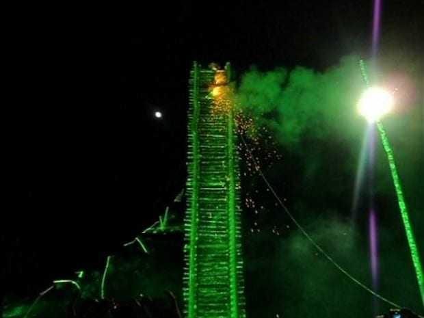 Festa da Fogueira, em Itacoatiara no Amazonas