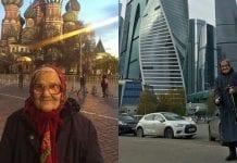 Aposentada de 90 anos viajando o mundo / Reprodução do Instagram @babushka_1927