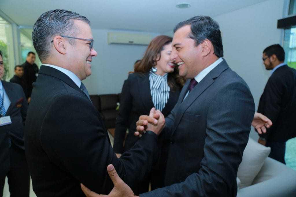Deputado Josué Neto e o governador eleito Wilson Lima - Imagem: Divulgação