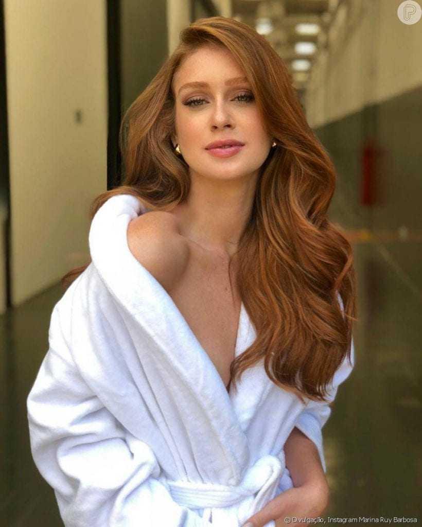 Web delira após ver Marina Ruy Barbosa de lingerie transparente