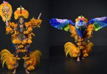 A Miss Brasil Mayra Dias usará um figurino tecnológico na sua participação no Miss Universo